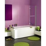 Pare-baignoire Ixia relevable 2 volets