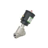 Vannes inox à commande pneumatique ou eau sous pression série E290