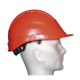 Casque de chantier Kara orange