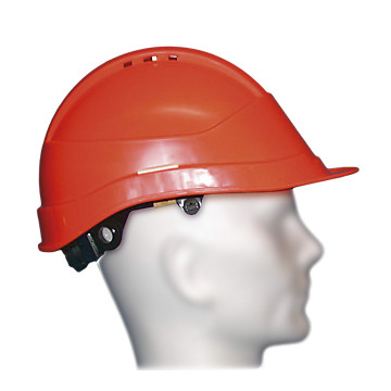 Casque de chantier Kara orange Auboueix
