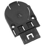 Adaptateur antibruit 3712 sur casque de chantier