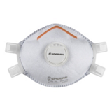 Masques jetables anti-poussières FFP3 avec soupape