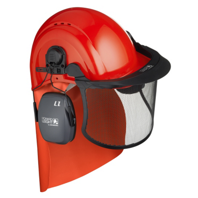Casque forestier complet Honeywell