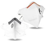 Masque jetable antipoussières FFP3