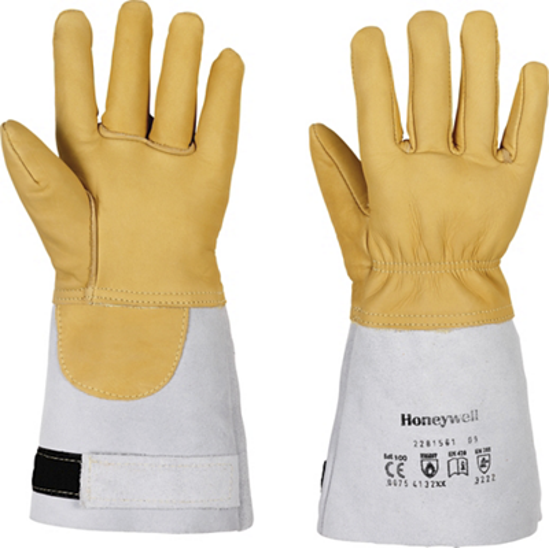 Gants Fireman - Paille/Blanc Honeywell