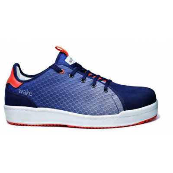 Chaussures basses Wake B0271 - Bleu/Orange Base protection