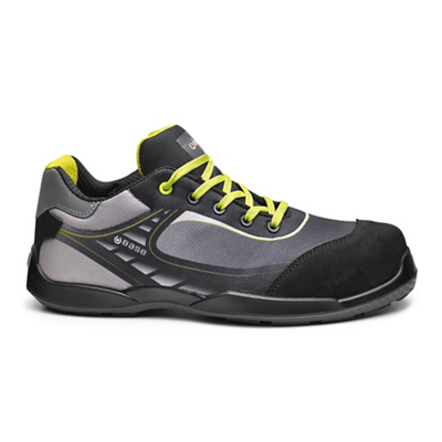 Chaussures basses Tennis B0676B - Gris/Jaune Base protection