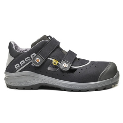 Chaussures basses Be-Fresh B0871 - Noir/Gris Base protection