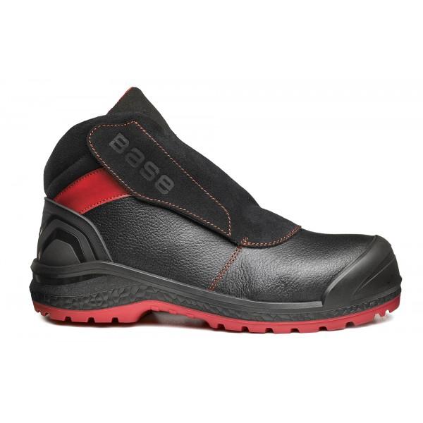 Chaussures hautes Sparkle B0880 - Noir/Rouge Base protection