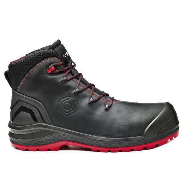 Chaussures haute Be-Uniform Top B0888N - Noir/Rouge Base protection