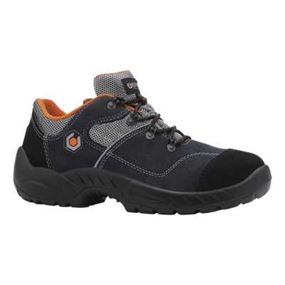 Chaussures basses Garibaldi B0155 - Noir/Orange Base protection