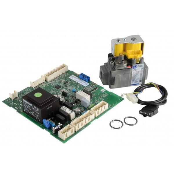 Vanne gaz 848 et circuit imprimé LMU54 Chappee