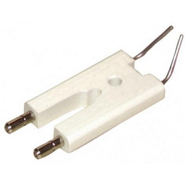 Electrode et bougie brûleur