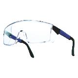 Lunettes de protection B272 incolores monture bleue électrique