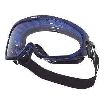 Lunette-masque Blast incolore antibuée, bord mousse Bollé Safety