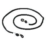 Cordelette noire pour lunettes
