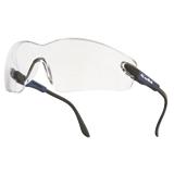 Lunettes de protection Viper incolores antibuée monture bleue électrique