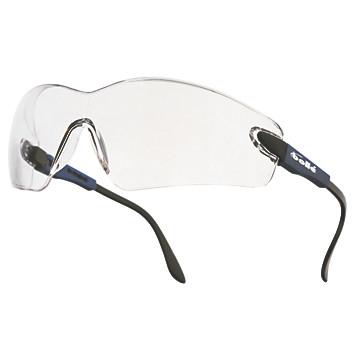 Lunettes de protection Viper incolores antibuée monture bleue électrique Bollé Safety