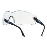Lunettes de protection Viper incolores monture bleue électrique