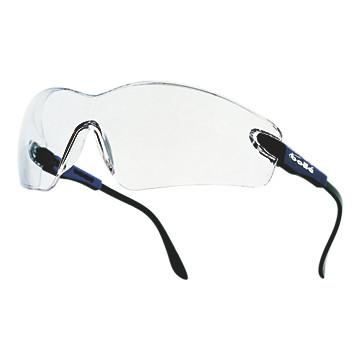 Lunettes de protection Viper incolores monture bleue électrique Bollé Safety