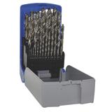 Forets HSS métal en coffret de 25