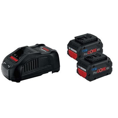 Pack batteries 18V / 4 Ah + chargeur Bosch Professional