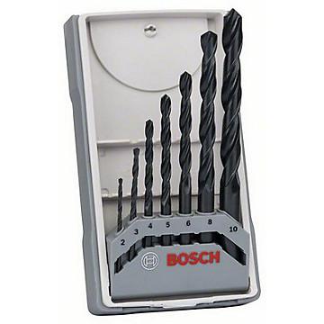 Coffret de 7 forets métaux HSS-R Bosch Professional