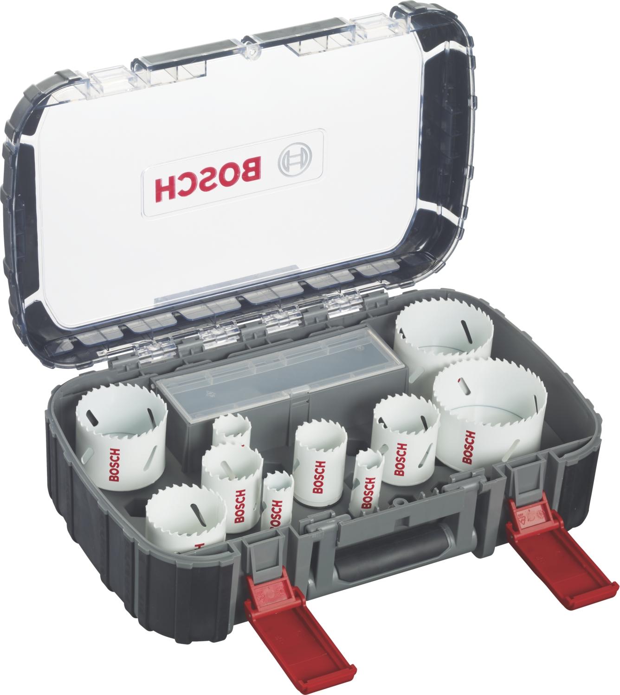 Coffret de scies trépans Progressor Universal 14 pièces Bosch