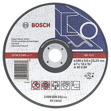 Disques à tronçonner pour meuleuse angulaire Bosch