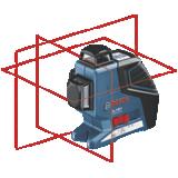 Laser plan GLL 3-80 P avec trépied BT 150
