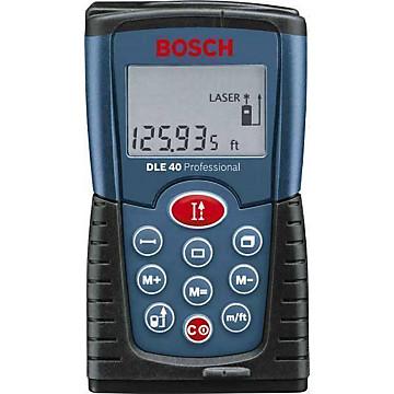 Télémètre laser DLE 40 Bosch