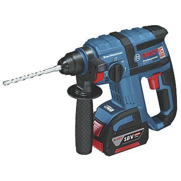 Perforateur burineur sans fil GBH 18 V-EC 5Ah Bosch Professional