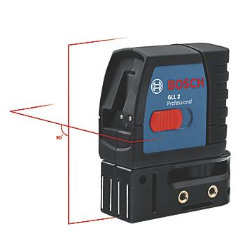 Laser en croix 2 lignes GLL 2-15 Bosch