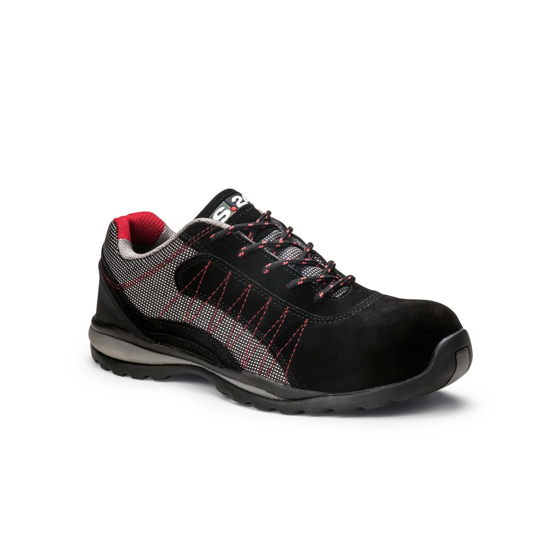 Chaussures basses Zéphir 5122 - Gris/Noir/Rouge S.24