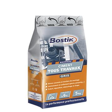 Ciment gris Bostik
