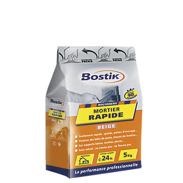 Mortier rapide Bostik