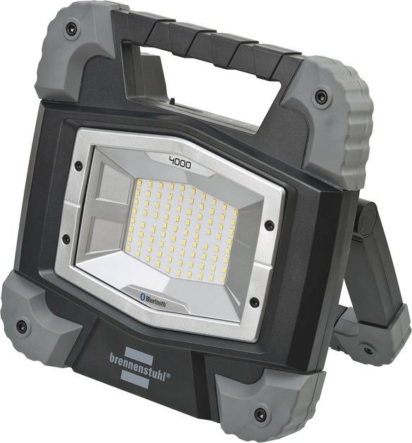 Projecteur LED TORAN 4000 IP55 portable connecté Bluetooth Brennenstuhl