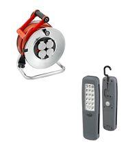 Lot enrouleur SILVER + lampe portable LED GRATUITE