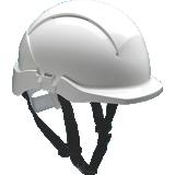 Casque de chantier Concept blanc électricien