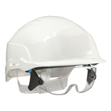 Casque de chantier blanc Spectrum