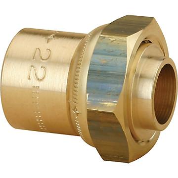Raccord 2 pièces droit à braser pour tube cuivre JPG Chuchu Decayeux
