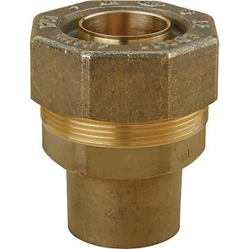 Raccord pour tube PE à braser sur cuivre Chuchu Decayeux