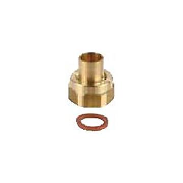 Ajutage à braser pour tube cuivre pour butane et propane en récipient Clesse