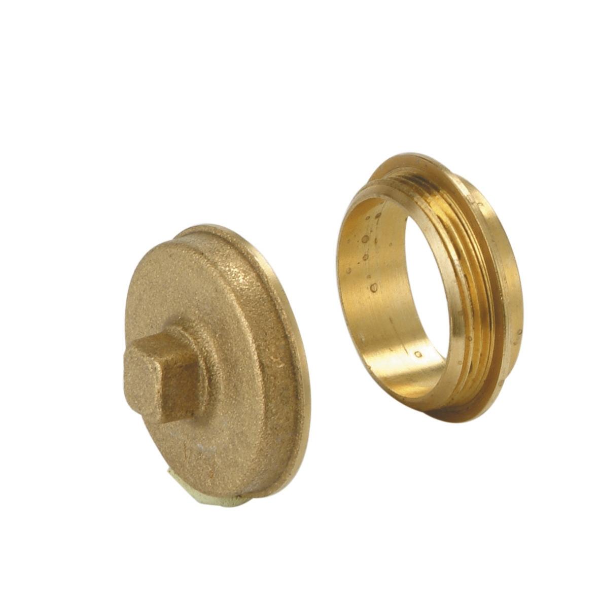 Bouchon de dégorgement pour tube cuivre