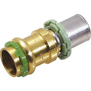 Raccord adaptateur CU à sertir (eau) - Multicouche (skin) Comap