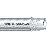 Tuyaux PVC Refittex Cristallo diam. int. 6 à 50, couronne de 25 ml.