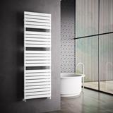 Sèche-serviettes eau chaude tubes plats Premium