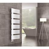 Sèche-serviettes eau chaude tubes plats asymétriques Premium
