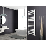 Sèche-serviettes eau chaude tubes droits Essential
