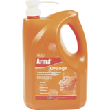 Crème lavante microbilles orange
